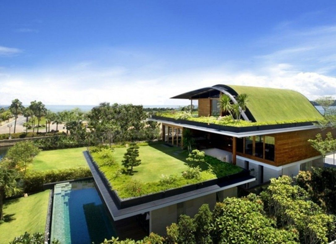 Green roofs, Nature and Modern on Pinterest - ^