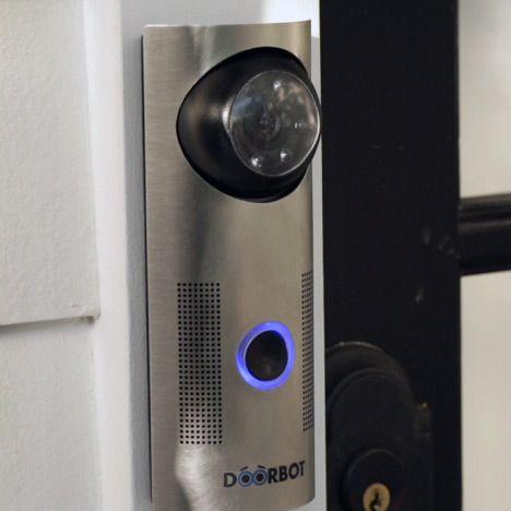 Doorbot Wireless Doorbell By Edison Junior Design Laboratory Neat Gadgets Wireless Doorbell Diy Gadgets Electronics