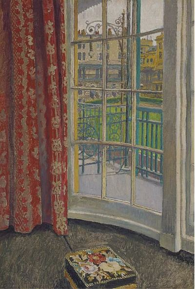 Walter Taylor View From A Window, Brunswick Square, Brighton Late 19th    Early 20th