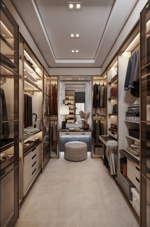 40 Walk In Wardrobes That Will Give You Deep Close