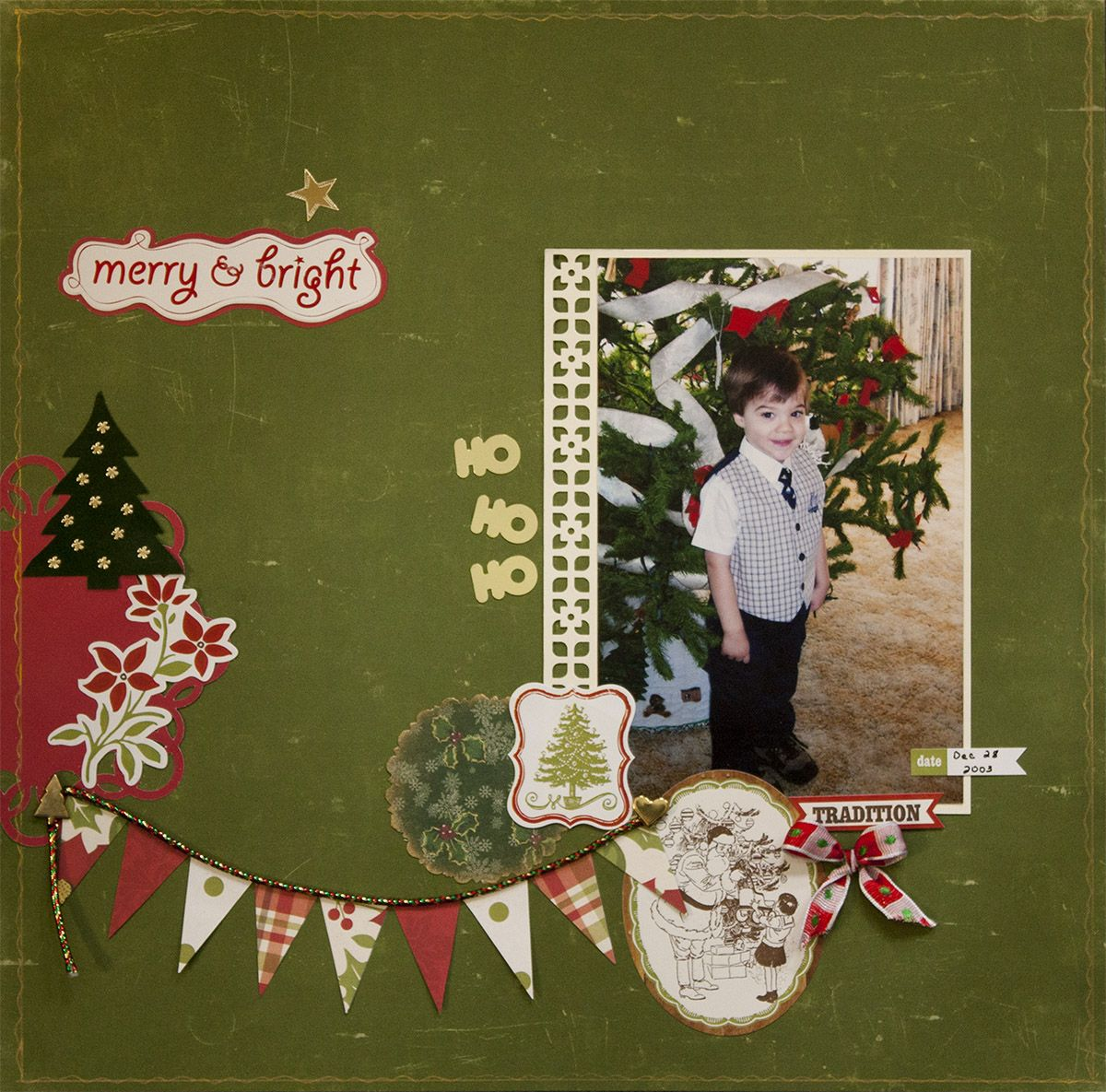 Merry & Bright - Scrapbook.com