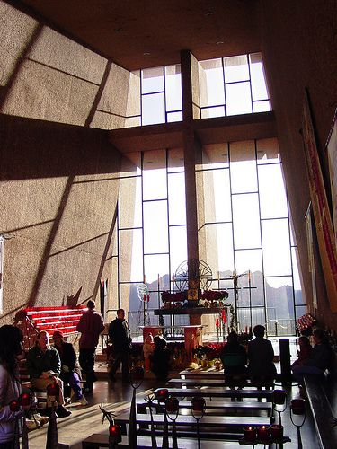 Interior Of The Chapel Of The Holy Cross (Chapel In The Rock) 1956,