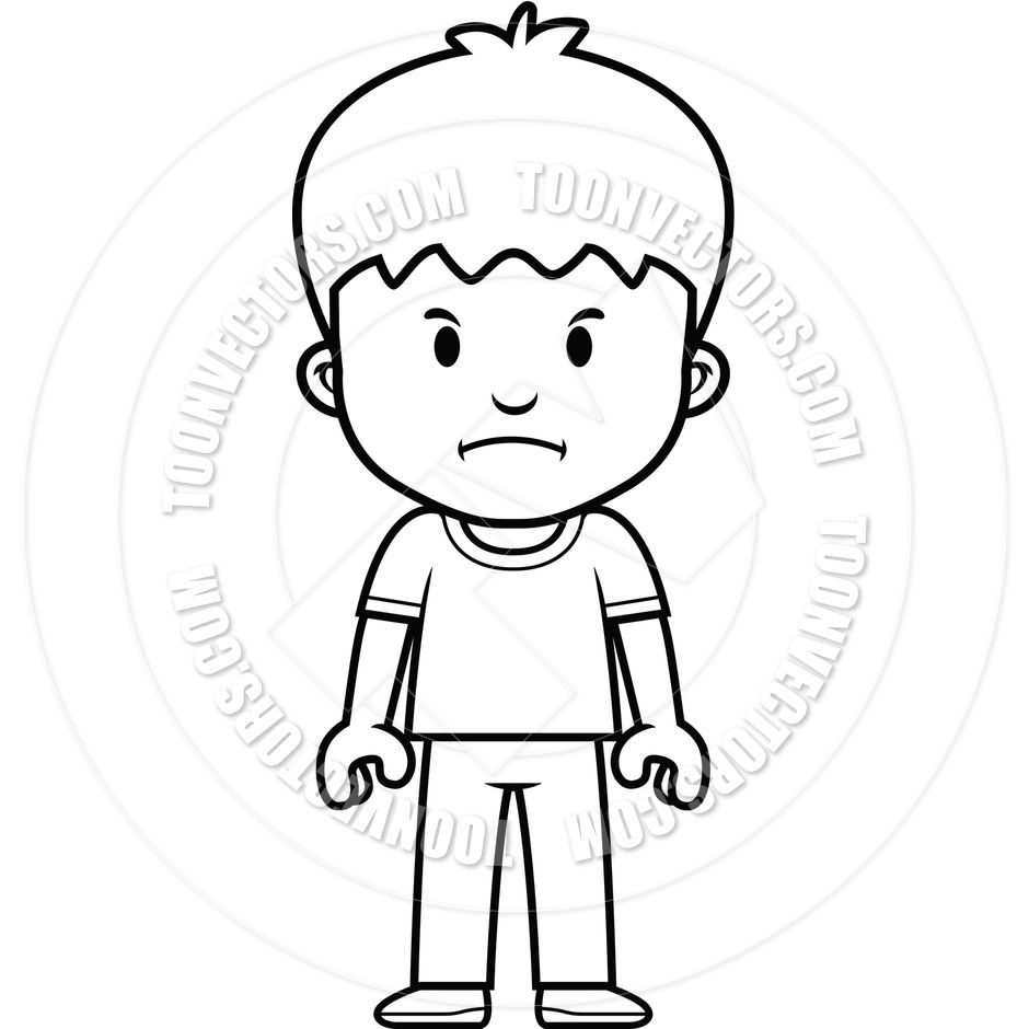 Line Drawing Boy Google Search Coloring Pages Cartoon Boy