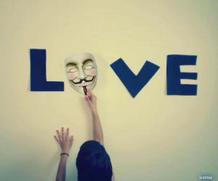 Love Anonymous | Anonymous ART of Revolution