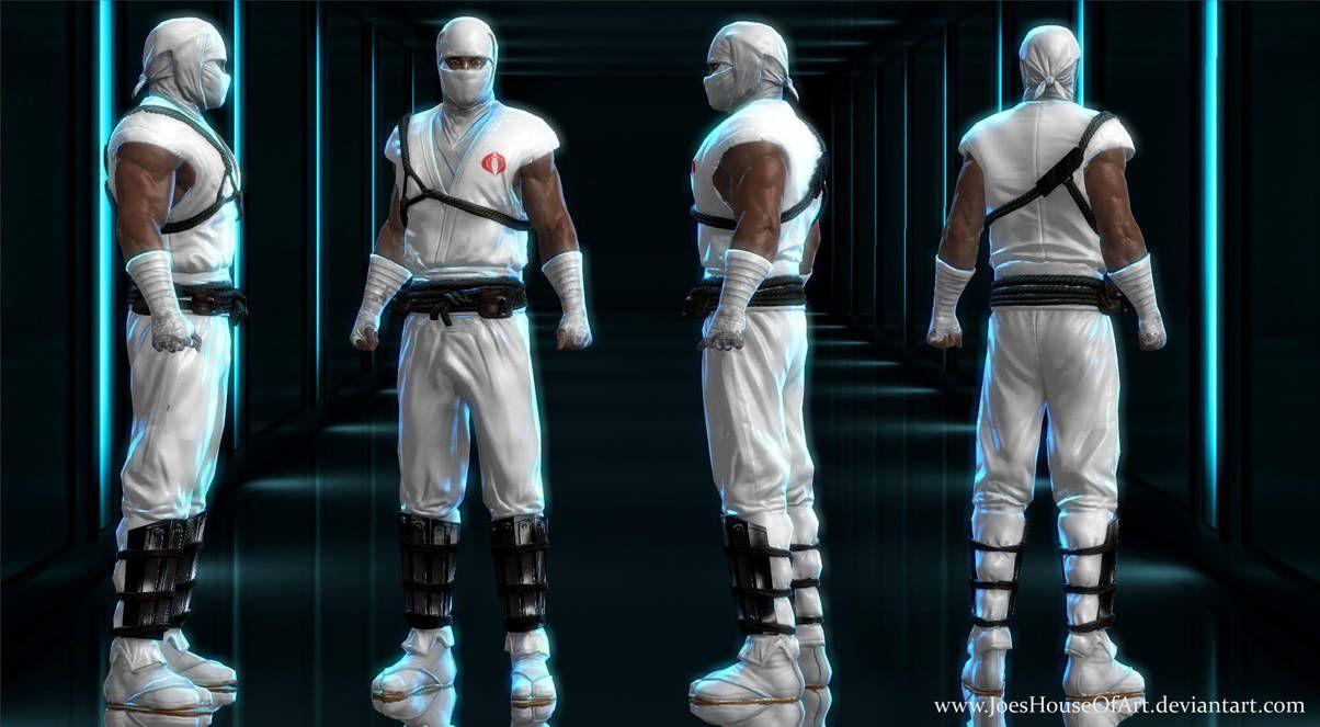G I Joe Storm Shadow custom 3D model for XNALara by