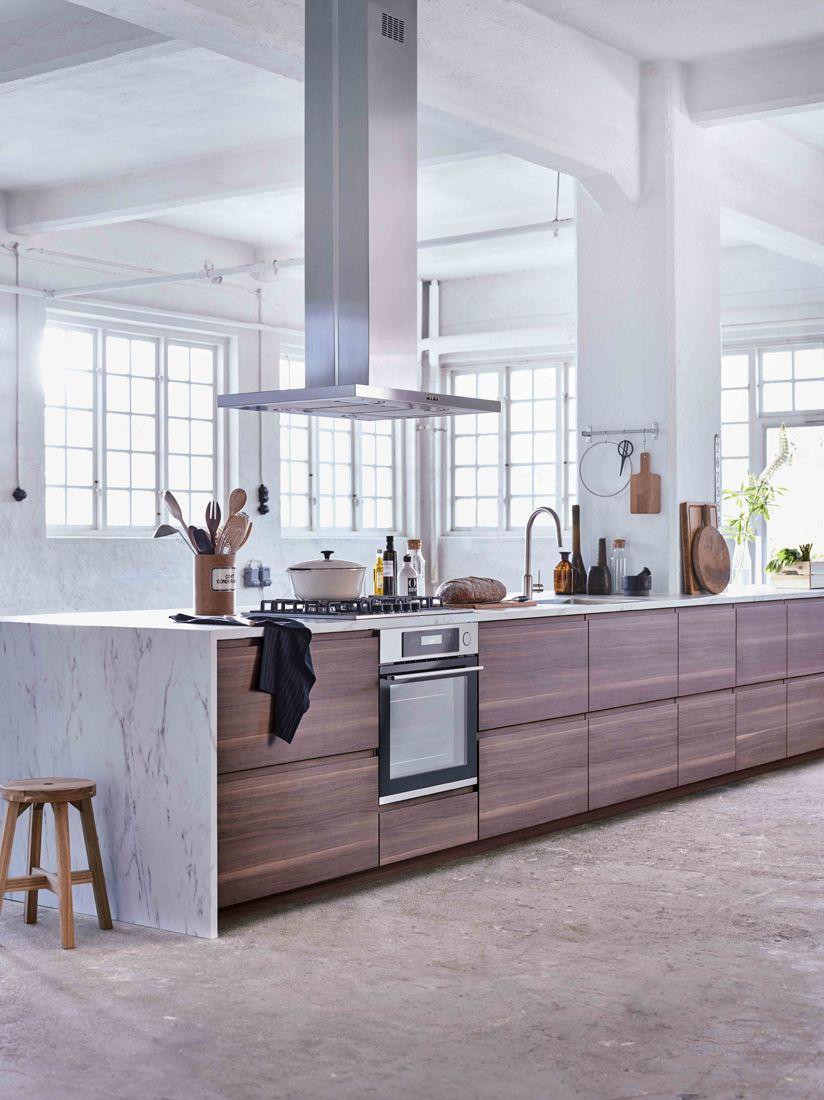 Inredning måttbeställd bänkskiva : IKEA | Grote METOD/VOXTORP keuken, betaalbaar en van alle luxe ...