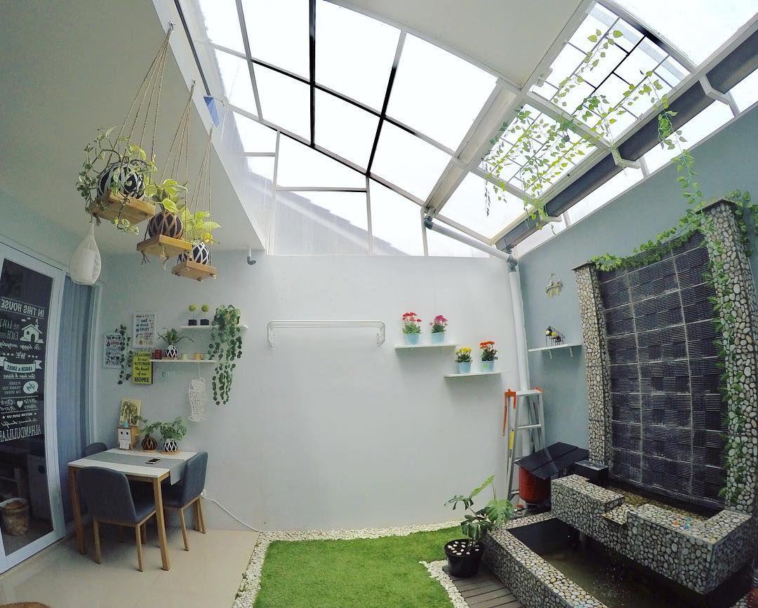 Rumah Unik Tipe 45 Mungil Tapi Ada Indoor Garden Desain Rumah