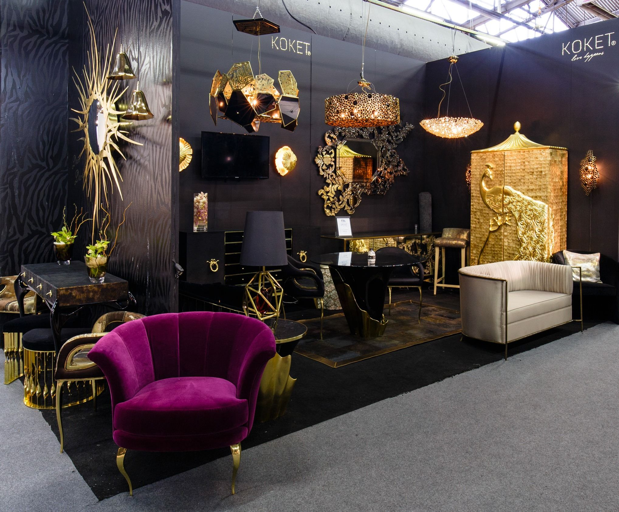 Koket From Architectural Digest Design Show 2015 Interior Design Shows Modern Home Interior Design Interior Design