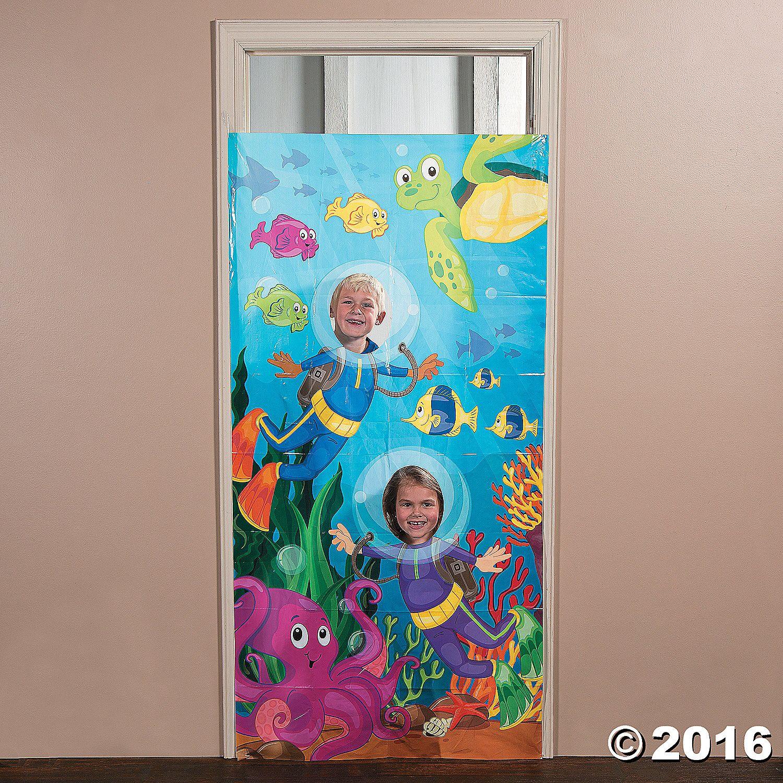Under The Sea Photo Door Banner Orientaltrading Com Under The