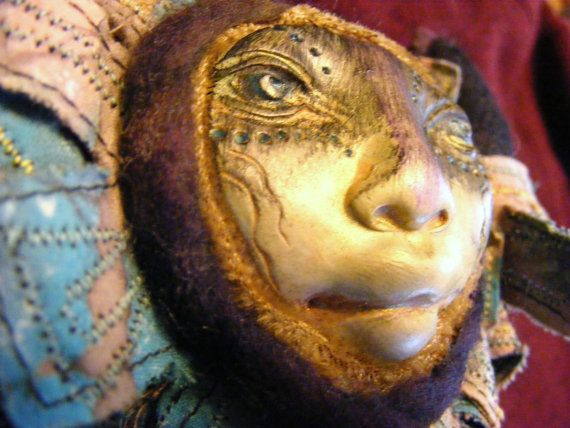 Mother Night art doll by CharliesSpot on Etsy, $65.00