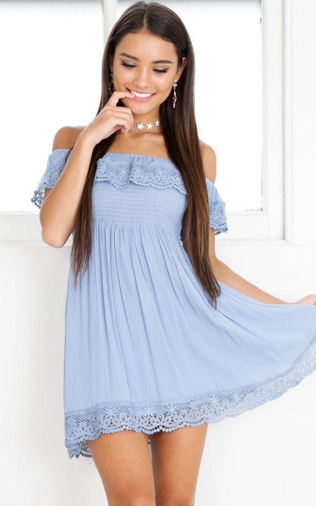 cbb40dc19e7 Showpo You Are Magic Dress in Light Blue - 14 (XL) Casual Dresses You