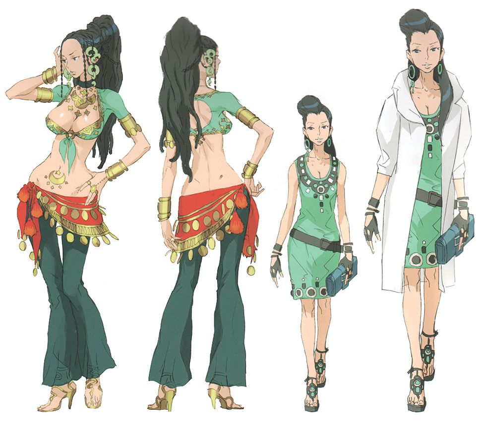 Lotus Concept Characters Art 999 Nine Hours Nine Persons