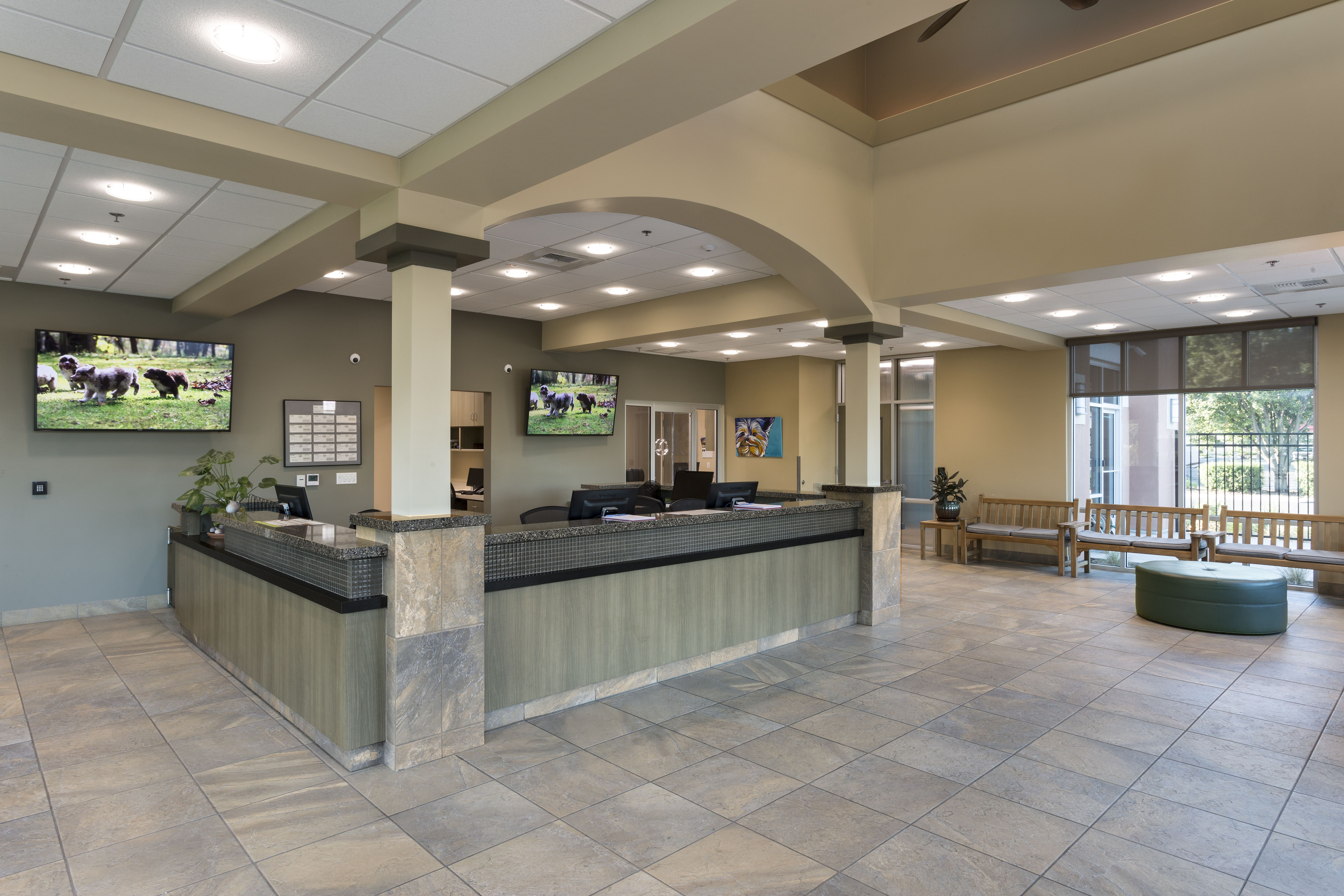Linden Group Architects in 2020 Hospital design lobby