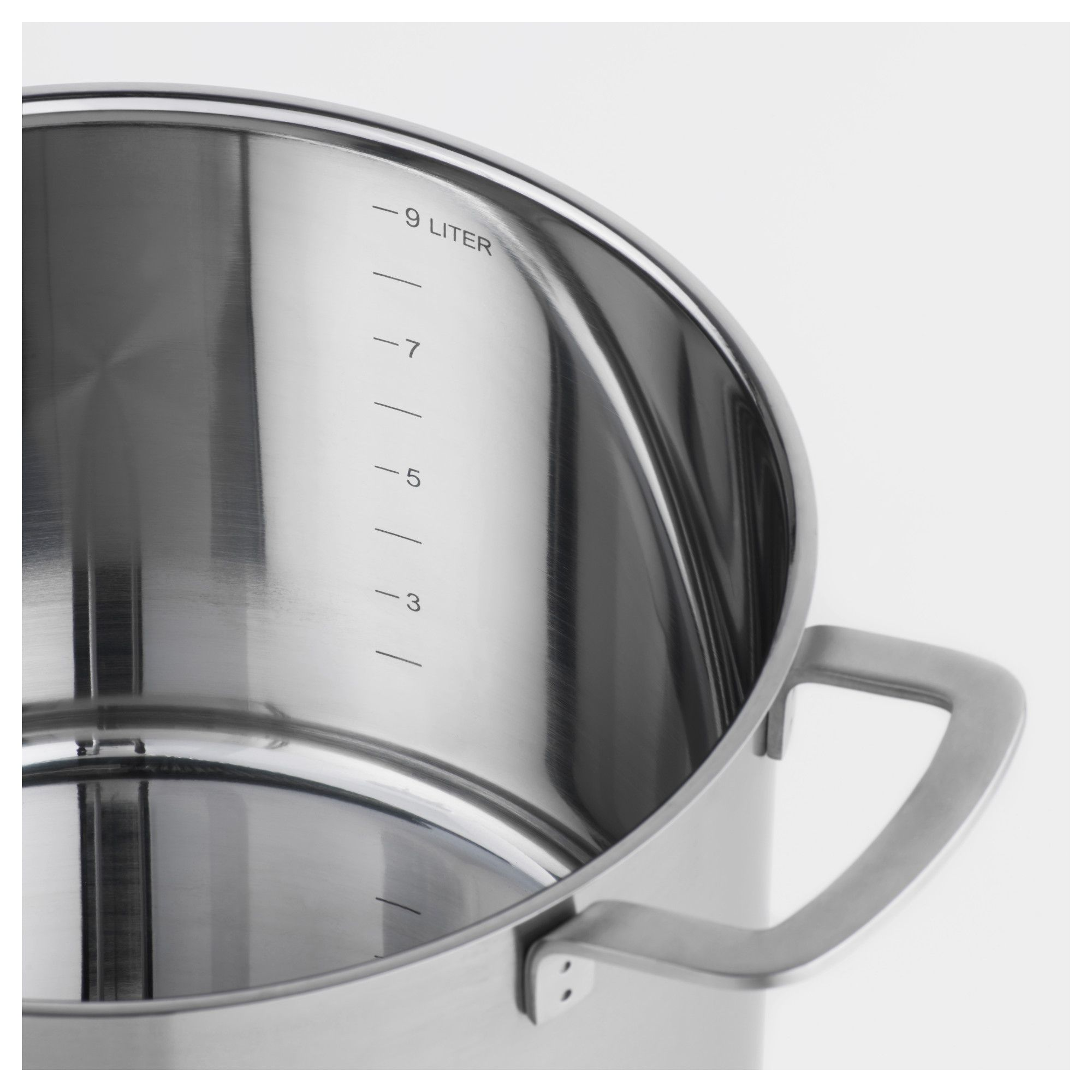 Ikea ikea 365 stainless steel glass stock pot with lid