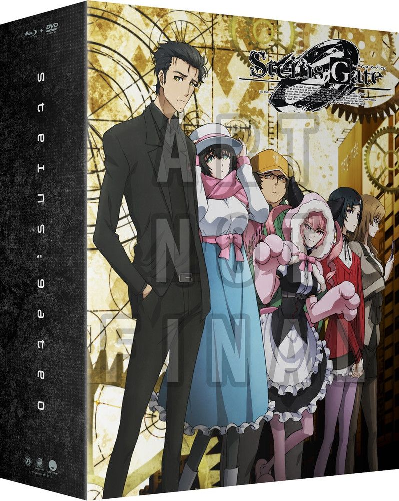 Steins Gate 0 Part 1 Limited Edition Blu Ray Dvd Anime Episodes