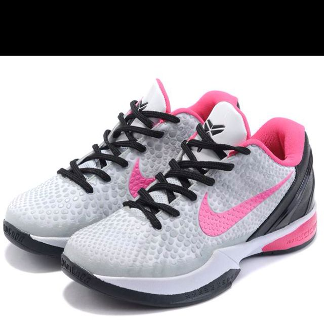 Pink Nike shoes by Kobe Bryant ... My 3 year old has these.