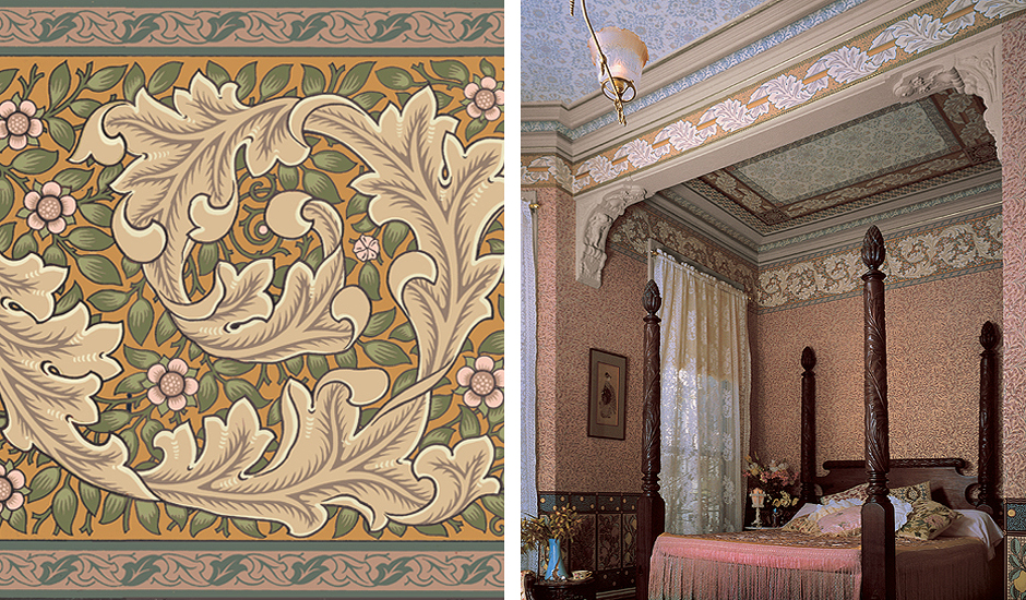 Historic Victorian Art Wallpapers Bradbury Morris