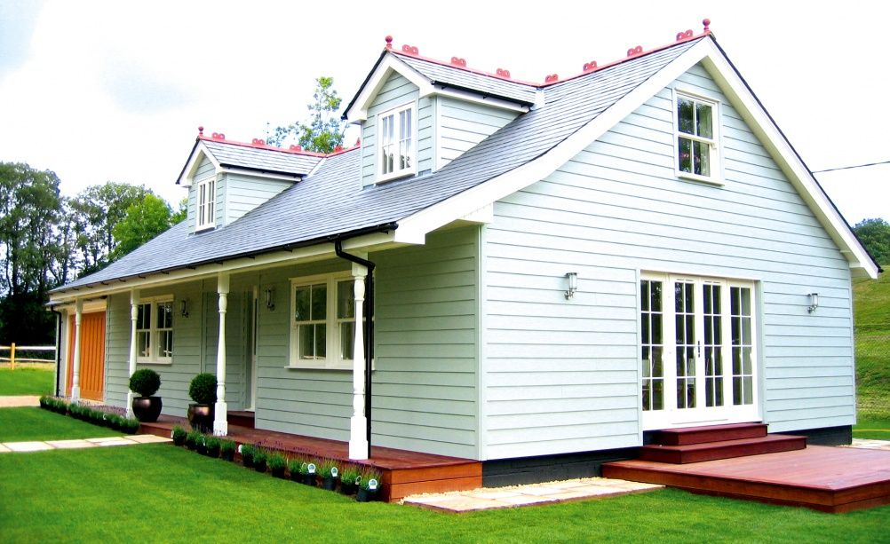 Chalet makeover new england cladding 1920 pinterest for Chalet bungalow floor plans uk