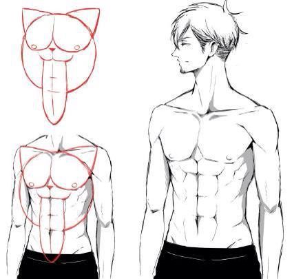 How To Draw Muscle Body Drawing Tutorial Manga Drawing Tutorials Drawing Tutorial