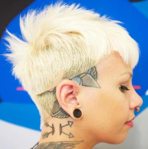 35 Short Punk Hairstyles To Rock Your Fantasy Kinder Haarschnitte Styling Kurzes Haar Punk