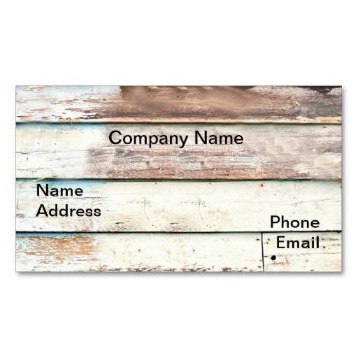 Wood Shack Wall Business Card 2. Make your own business card with this great design. All you need is to add your info to this template. Click the image to try it out!