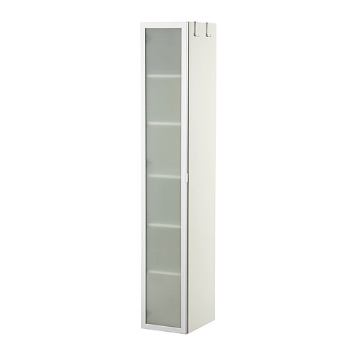 LILLÅNGEN Hoge kast, wit, aluminium - Ikea, Kast en Badkamer