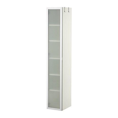 LILLÅNGEN Hoge kast, wit, aluminium | Pinterest - Ikea, Kast en Badkamer