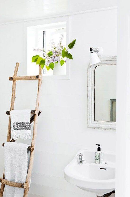 leuke handdoek-trap ik wil ook planten in de badkamer | Bathroom ...