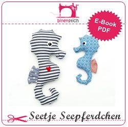 Seepferdchen nähen: Anleitung und Schnittmuster | fabric ...