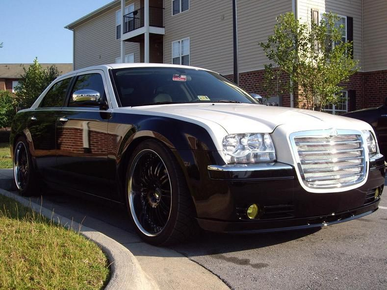 2006 Chrysler 300 Touring 2tone Paint Job On Black Rims Sooo