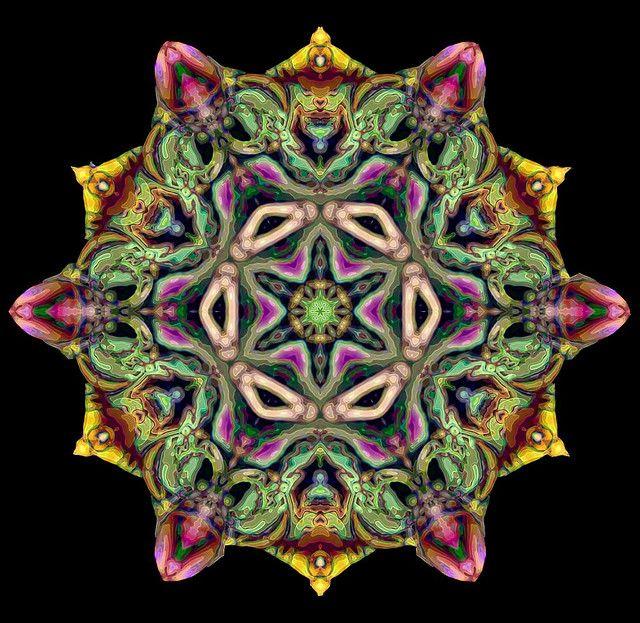 kaleidoscope 23a by SelenaAnne, via Flickr