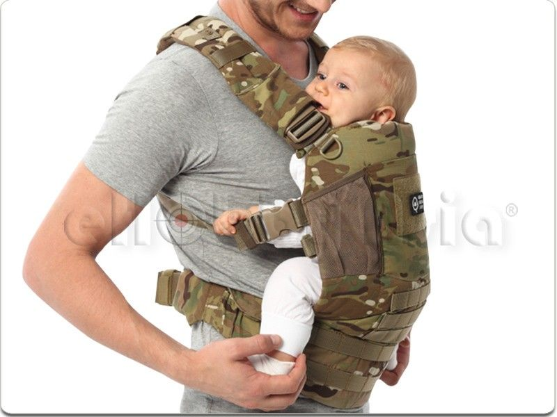 Quokkajoy Quopro Tactical Baby Carrier Limited Multicam Lakelynn