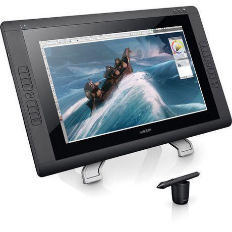 Wacom Cintiq 22hd Interactive Pen Display Tablet Black Wacom Cintiq Wacom Cintiq