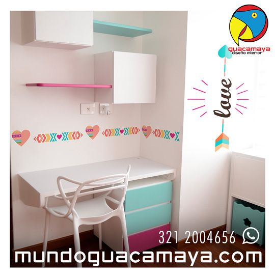 Cont ctanos whats app 3212004656 vinilos decorativos for Vinilos juveniles nina