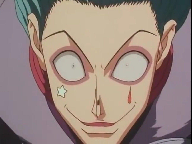 Hisoka Blue Hair Anime Expressions Hisoka Anime