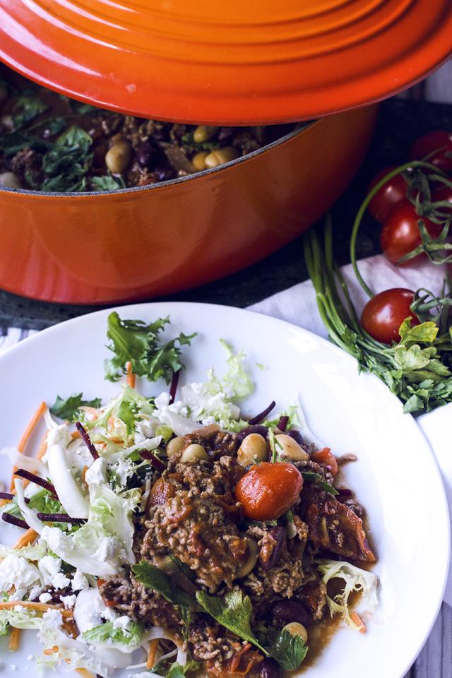 chili con carne sojafärs