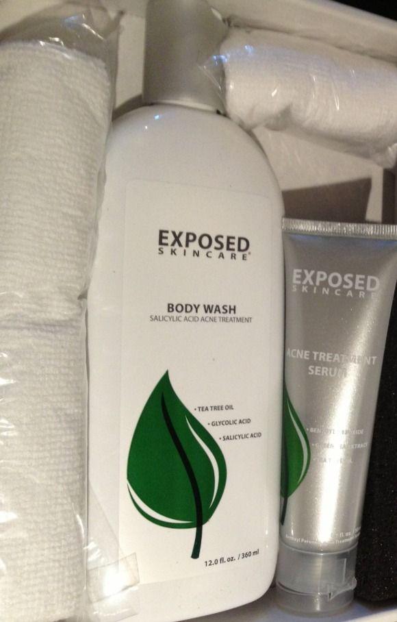 Exposed Skin Care Body Acne Kit Complete Kit Acne Kits Exposed Skin Care Body Skin Care