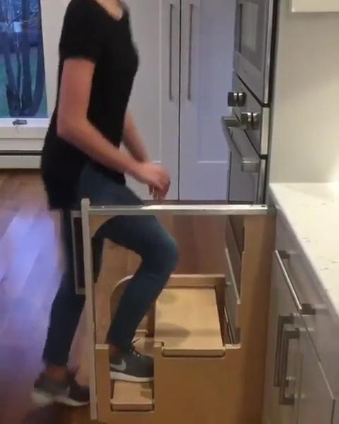 Photo of Amazing kitchen stairs