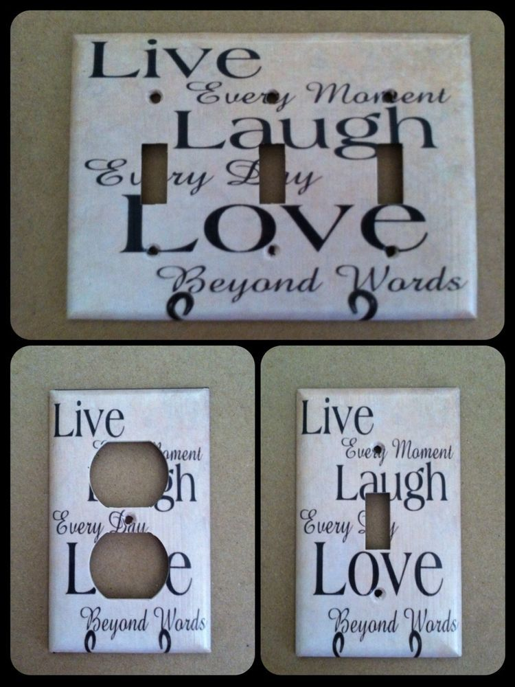 Live Laugh Love Home Decor