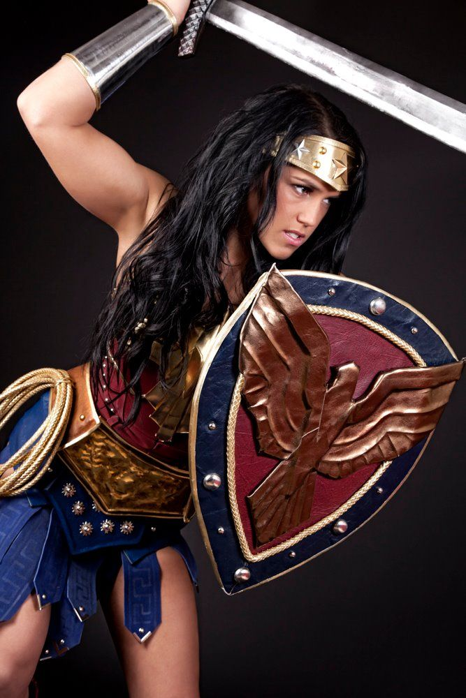 When they do make a Wonder Woman movie, this is pretty much what she should look like.