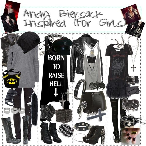 16 best Andy Biersack Style images on Pinterest | Emo ...  |Andy Sixx Dress