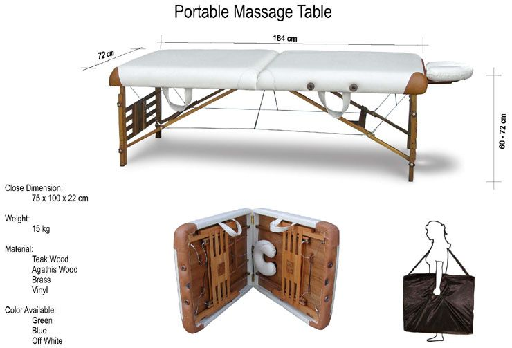 Image Result For Portable Massage Table Dimensions Massage Table