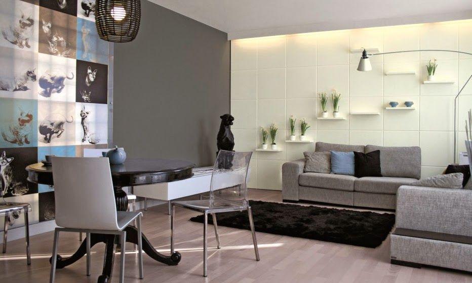 Uno de los colores de moda para decorar tu salón es la gama ...