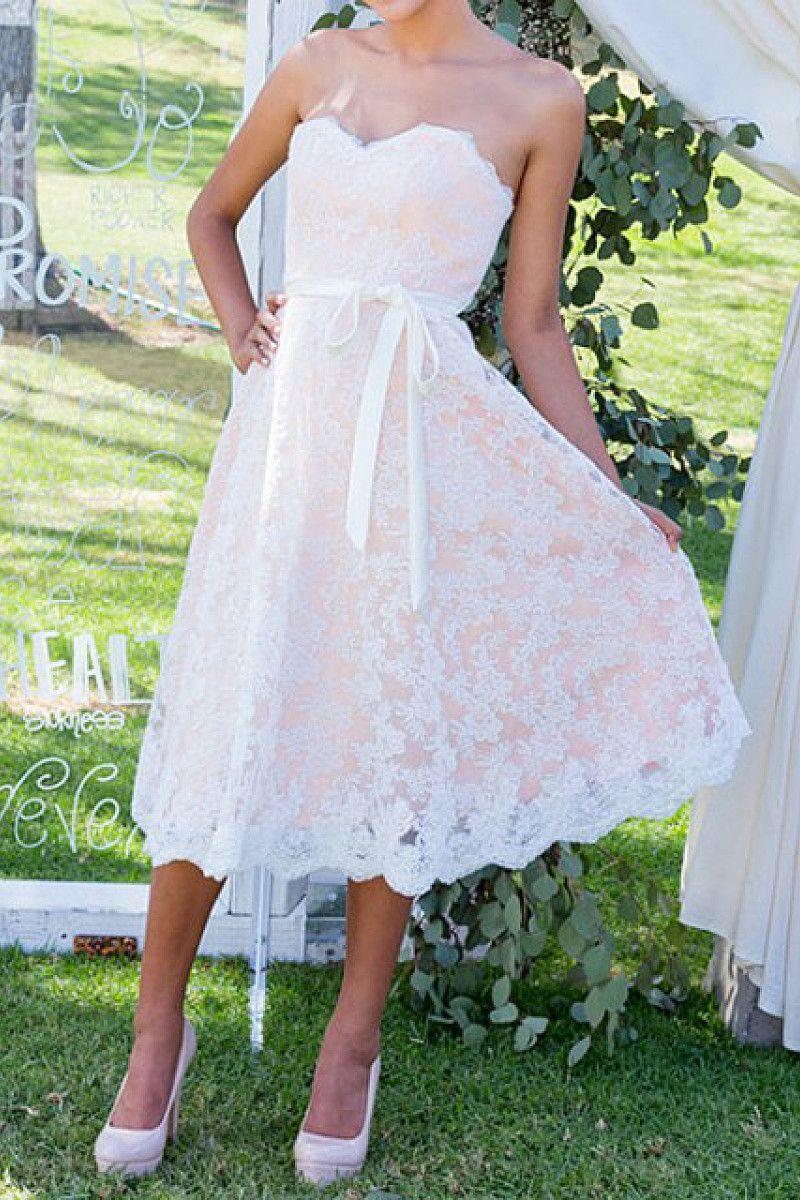 Phenomenal Tealength Sweetheart Sleeveless Lace Wedding