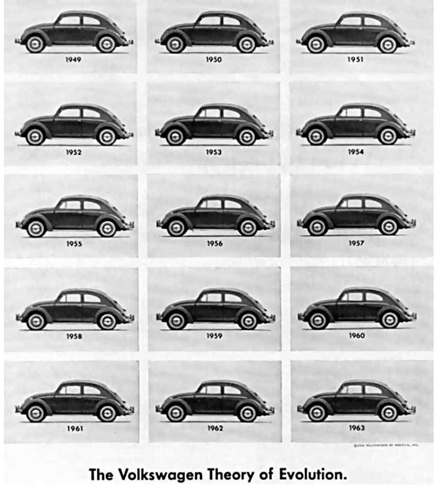 publicidad de Volkswagen años sesentas | Publicidades Vw ...