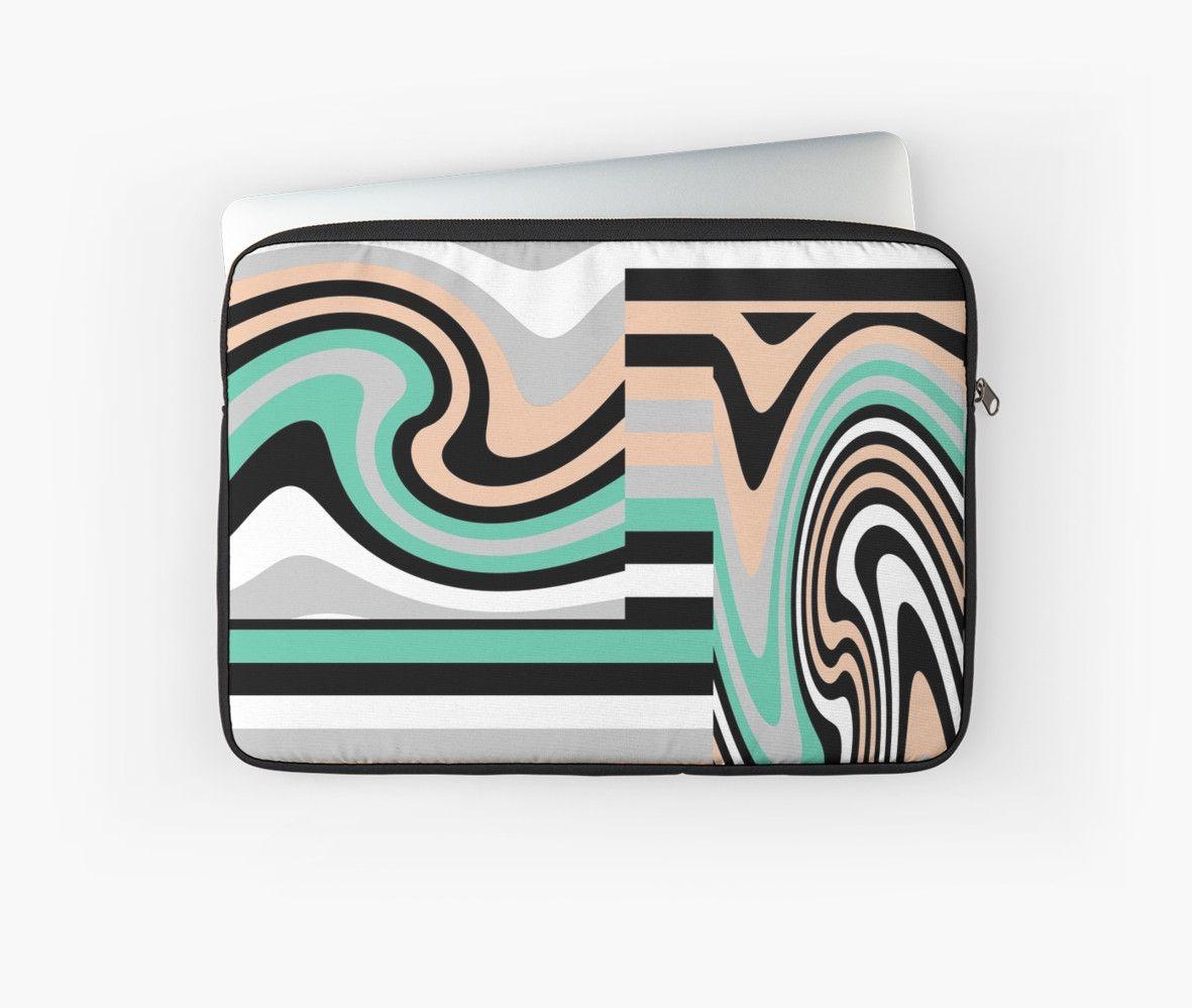 Minty Geometric Swirl  von Dakinisa