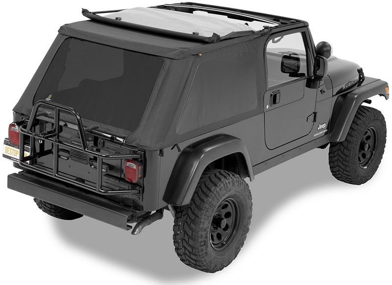 Bestop® 56821 35 Trektop™ NX Complete Soft Top   Jeep Wrangler TJ Unlimited