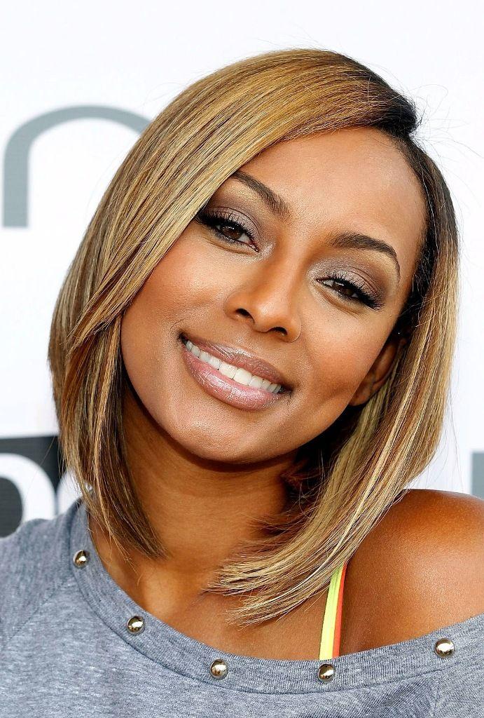 Nice Jet Black Hair With Honey Blonde Highlights Maximizing Look On