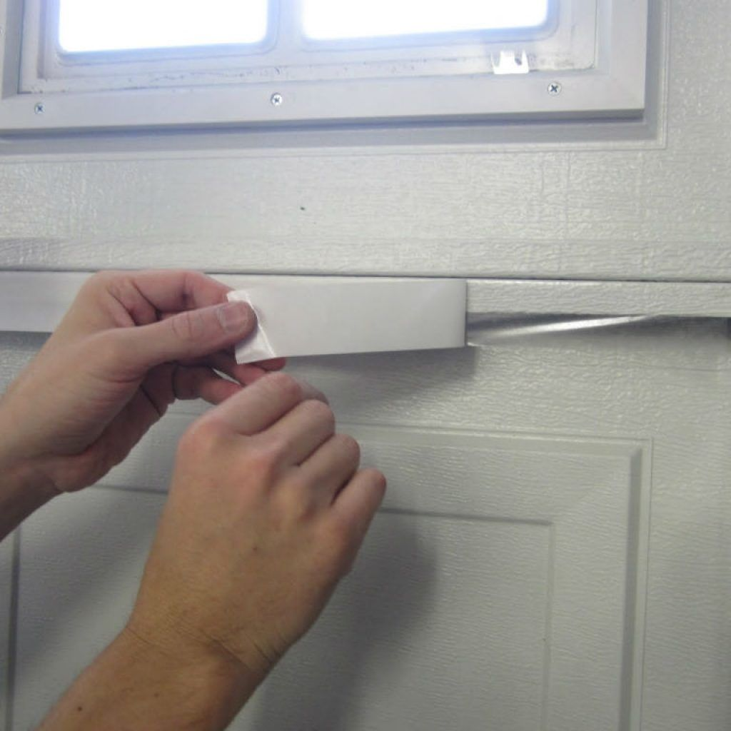 a by image non how to insulate door insulated for garage insulation x