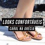 Looks bonitos e confortáveis para usar na Grécia
